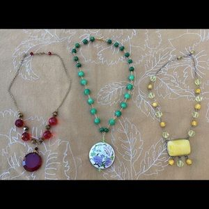 Collection of One-of-a-Kind Necklaces